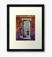 The Feature Is Too Bright Framed Print