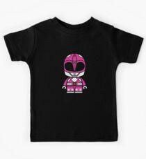 Pink Power Chibi Ranger Kids Tee