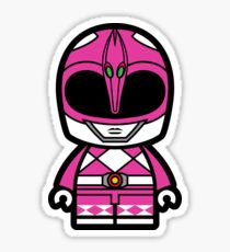 Pink Power Chibi Ranger Sticker