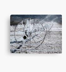 Sprinklers - Frozen  Canvas Print