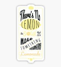 Sour Lemons Sticker