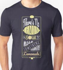 Sour Lemons (White Font) Unisex T-Shirt