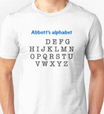 Abbott's alphabet T-Shirt