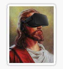 Jesus Christ - Oculus Rift - VR Sticker