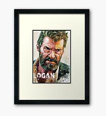 logan old man logan Framed Print