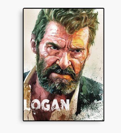 logan old man logan Canvas Print