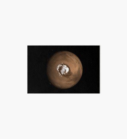 Nadir-Ansicht des Mars-Nordpols. Galeriedruck