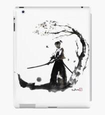 Swordsman in the twilight iPad Case/Skin