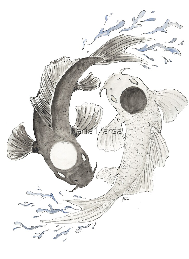 Yin Yang by Daria Parsa
