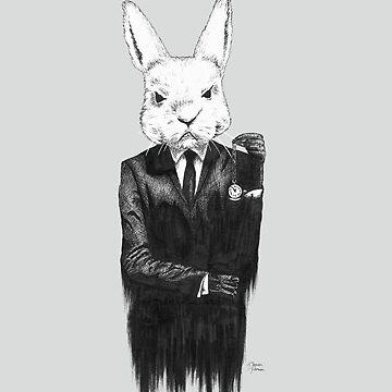 White Rabbit II by dariaparsa