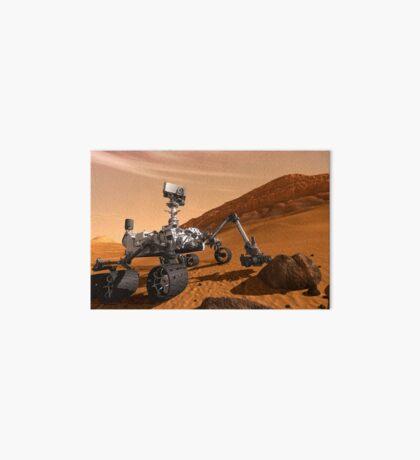 Künstlerkonzept des Mars Science Laboratory Curiosity Rover der NASA. Galeriedruck