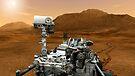 Künstlerkonzept des Mars Science Laboratory Curiosity Rover der NASA. von StocktrekImages