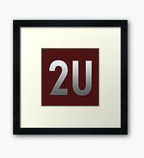 Slogan 2U - Bodbeli Framed Print