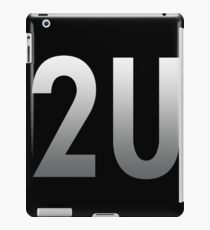 Slogan 2U - Bodbeli iPad Case/Skin