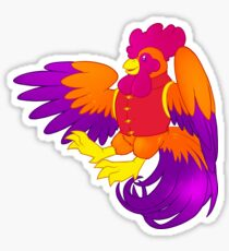 Chinese New Year Rooster Sticker