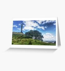 One Tree Hill - Auckland, New Zealand Greeting Card