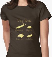 Dog Pasta Women's Fitted T-Shirt