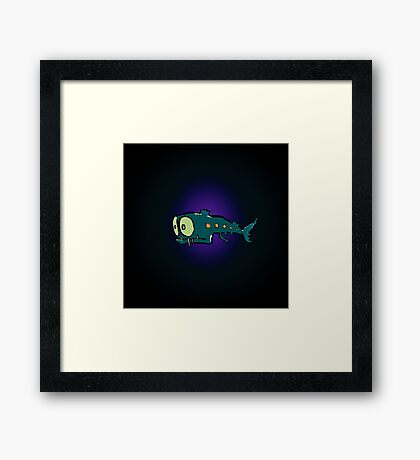 lantern fish Framed Print