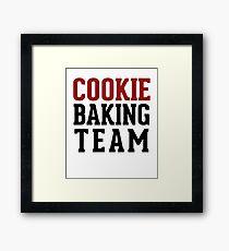 Cooking Baking Team Framed Print