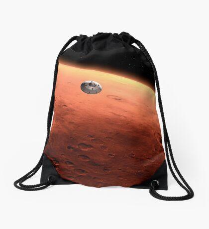 Das Konzept des Mars NASA Mars Science Laboratory nähert sich dem Mars. Turnbeutel