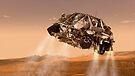 Die Rover und Abstiegsstufen für NASA Mars Science Laboratory Raumschiff. von StocktrekImages
