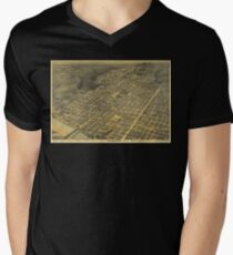 Austin 1887 Men's V-Neck T-Shirt