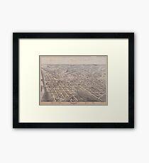 Dallas 1872 Framed Print