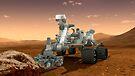 Künstler-Konzept der NASA Mars Science Laboratory Curiosity Rover. von StocktrekImages