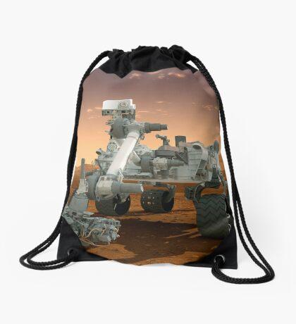 Künstler-Konzept der NASA Mars Science Laboratory Curiosity Rover. Turnbeutel