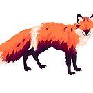 Fox by ria-draws