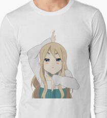 Camiseta de manga larga K-On Mugi