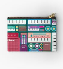 Colorful Synthesizer  Studio Pouch
