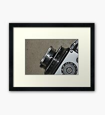 lens old camera Framed Print