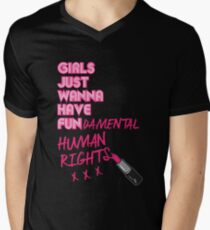 Fundamental Men's V-Neck T-Shirt