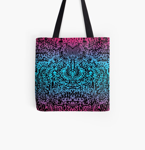 This is a colorfull dream All Over Print Tote Bag