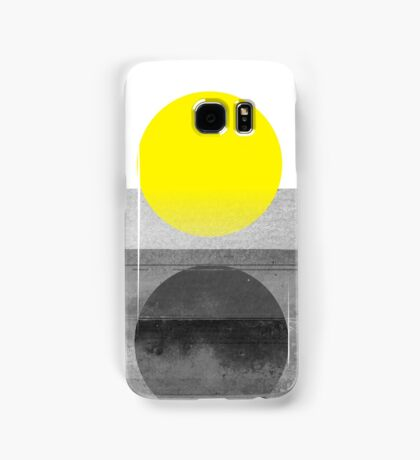 Yellow #abstract  Samsung Galaxy Case/Skin