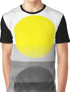 Yellow #abstract  Graphic T-Shirt