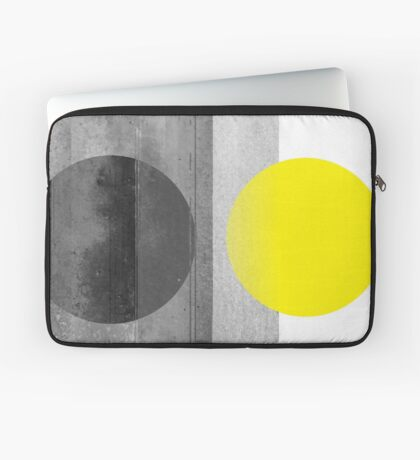 Yellow #abstract  Laptop Sleeve