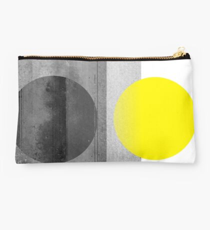Yellow #abstract  Studio Pouch