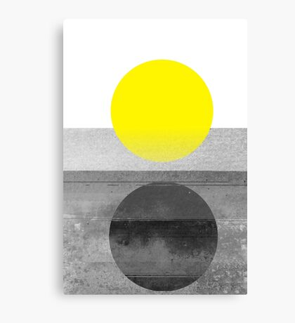 Yellow #abstract  Canvas Print