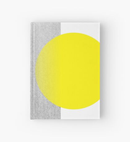 Yellow #abstract  Hardcover Journal