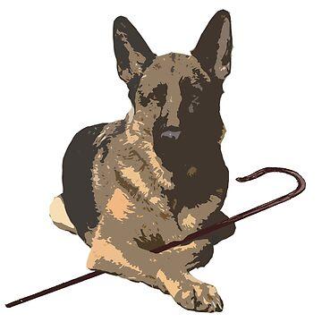 German Shepherd Dog by jesselego