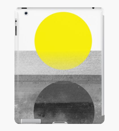 Yellow #abstract  iPad Case/Skin