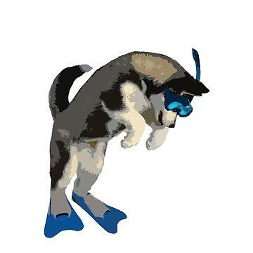 Husky Dog by jesselego