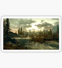 Skyrim landscape  Sticker