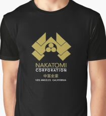 Nakatomi Gold Los Angeles California Graphic T-Shirt