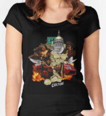 Migos Culture- C U L T U R E Women's Fitted Scoop T-Shirt