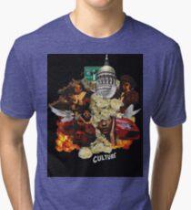 Migos Culture- C U L T U R E Tri-blend T-Shirt
