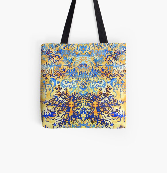 This is an alien dream All Over Print Tote Bag