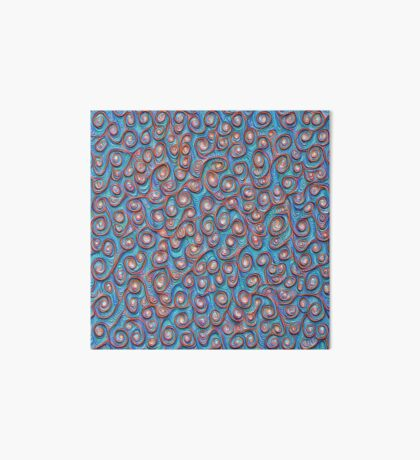 Out of the frost #DeepDream #Art Art Board Print